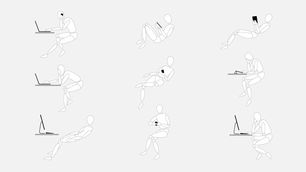 Steelcase Gesture Bewegunsmodelle